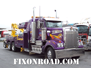 Big Rig Tow Truck Service